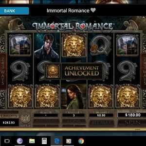 Immortal Romance Slot Winner By Toph11 - May 2018