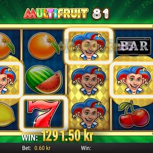 Multifruit Slot Winner By Mister1 - May 2018