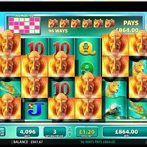 Raging Rhino Slot Winner By Dunover - May 2018