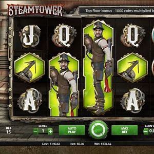 Steamtower Slot Monster Win -by Opiumdose - June 2018