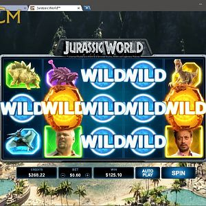 Jurassic World Slot Winner Wild By Toph11 - July 2018