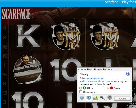 Pirackie wersje gier NetEnta Scarface-legit