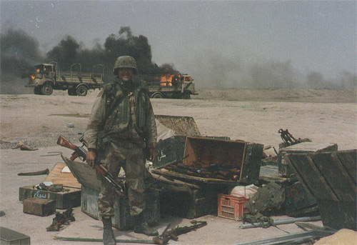 Pillage and burn - Operation Desert Storm
