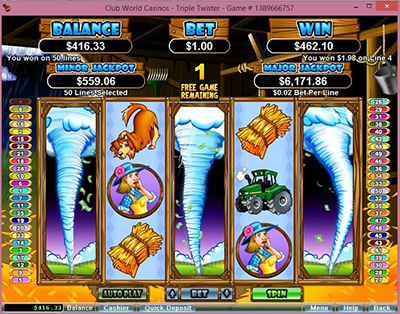 Triple Twister Screenshot