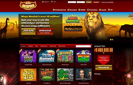 All Jackpots Casino
