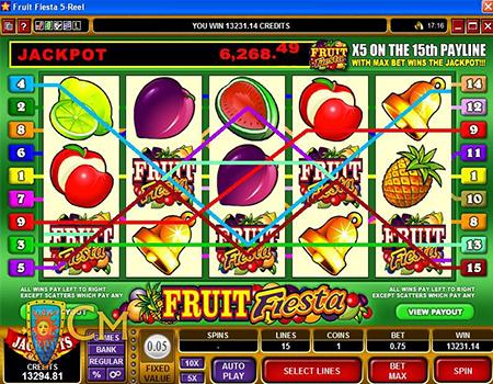 fruit fiesta jackpot win