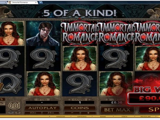 Dash Casino Immortal Romance