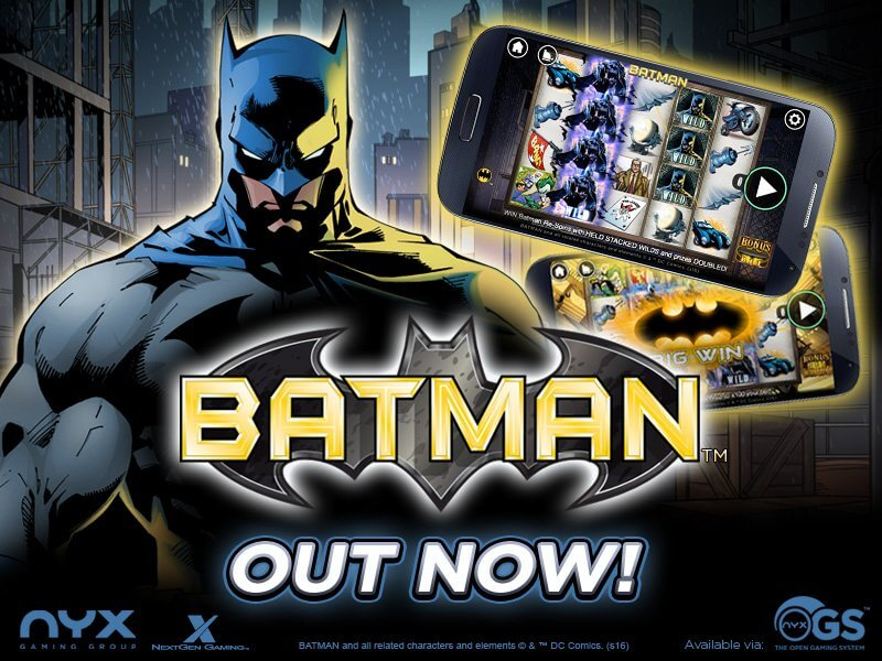 Batman Slots Nextgen Gaming