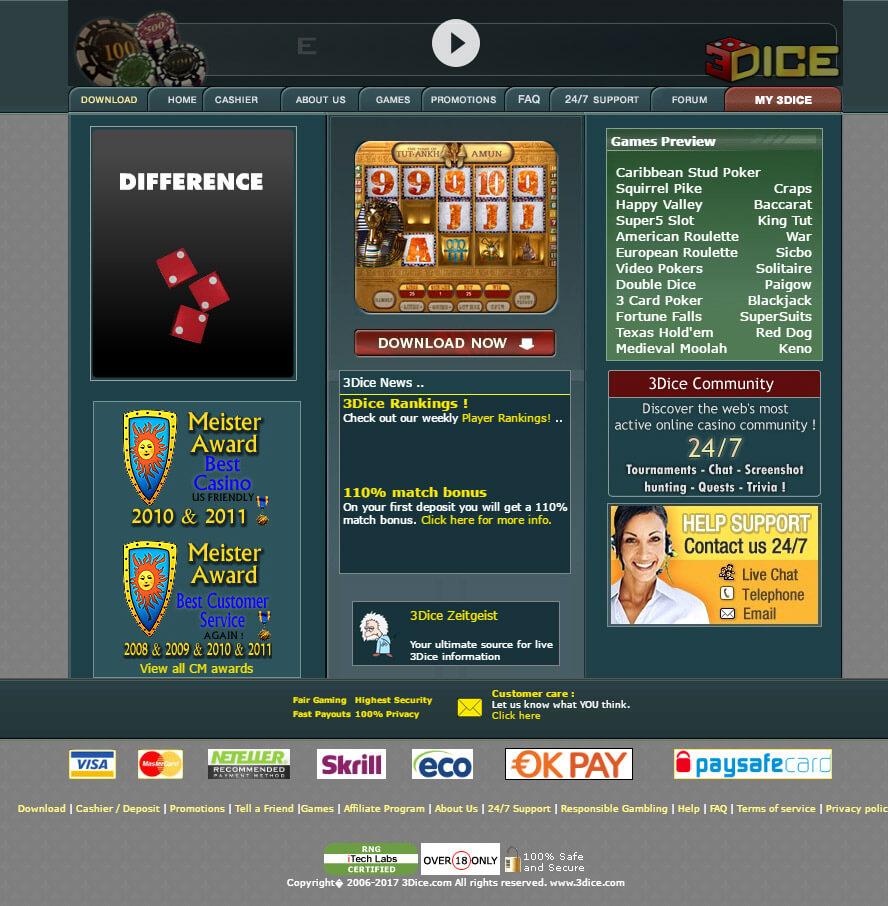 3 Dice Casino