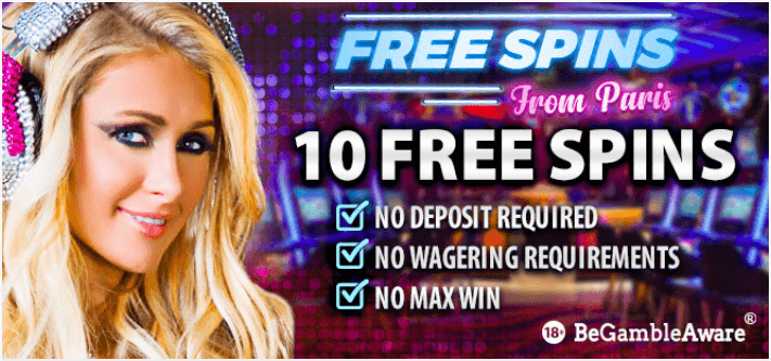 free casino spins no deposit 2019
