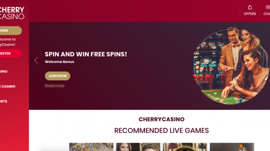 Cherry Casino Review, trusted & updated info - Casinomeister
