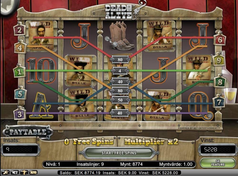 Dead or Alive bonus x580 win - Codeta Casino Thanks to sapit222