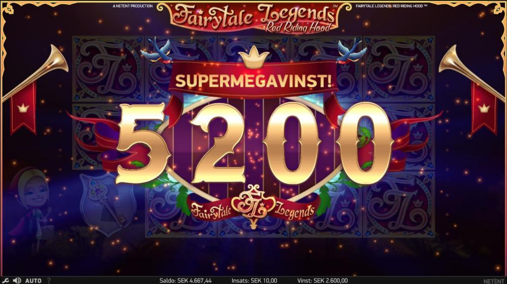 FairyTale Legends bonus win x260 Codeta Casino- Thanks to sapit222 for this awesome screenshot
