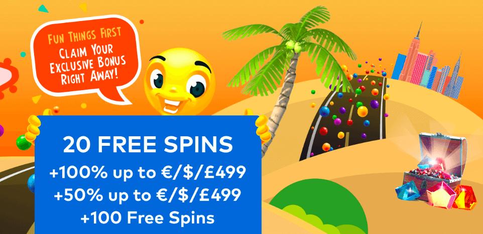 fun casino welcome bonus