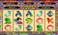 Golden Lotus winning screenshot at CasinoMax by Heroics