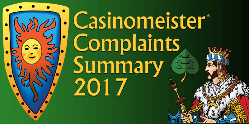 casinomeister complaints for 2017
