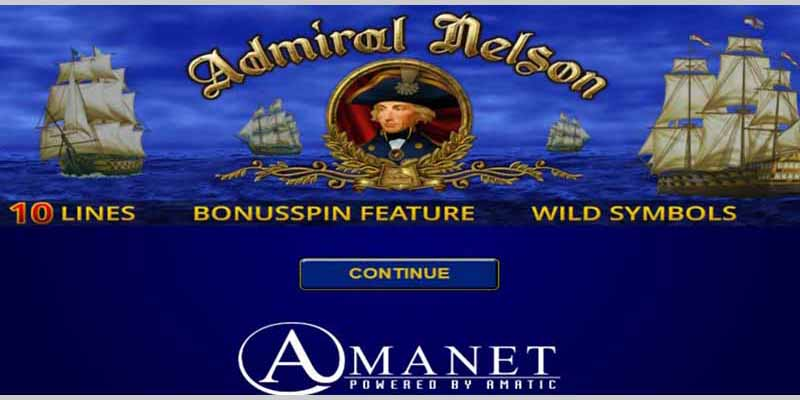Amanet Admiral Nelson Slots