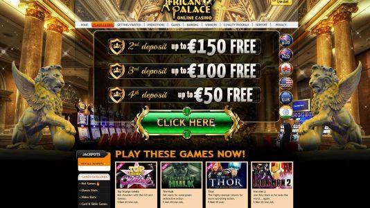 African palace casino free games casino dealer school nj