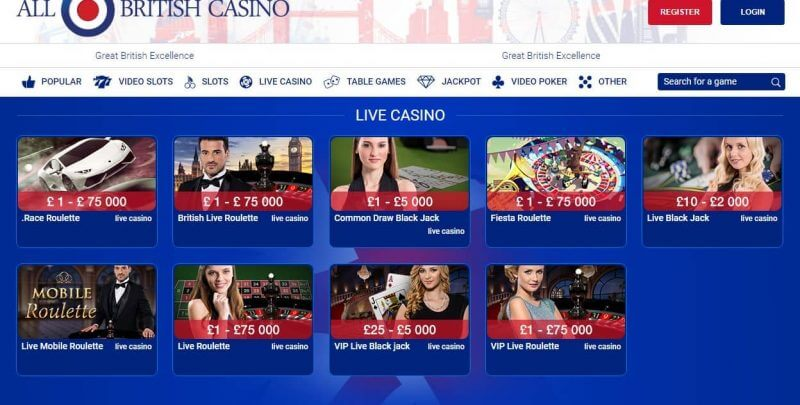 Britain s Fully Dedicated UK Online Casino