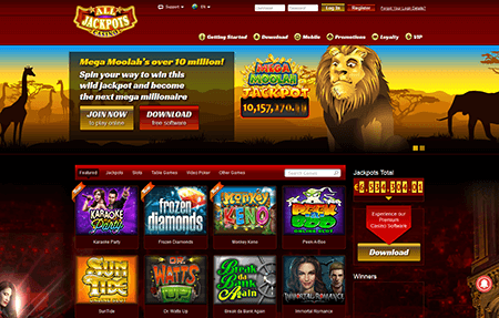 Bonus casino game info jackpots kingdom payouts rating review deerfoot inn & casino