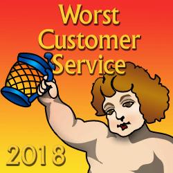 Worst Customer Service 2018