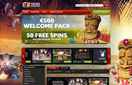betat casino screenshot