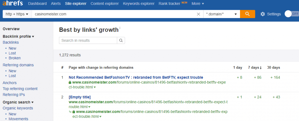 betfashionTV-blackhat-seo-attack-growth