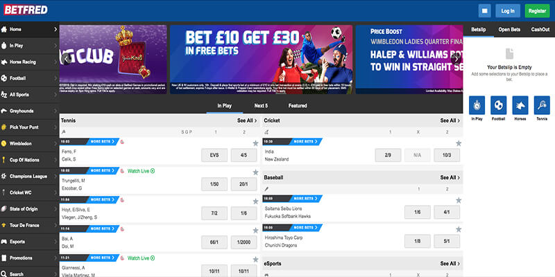 Betfred in Spanish Expansion