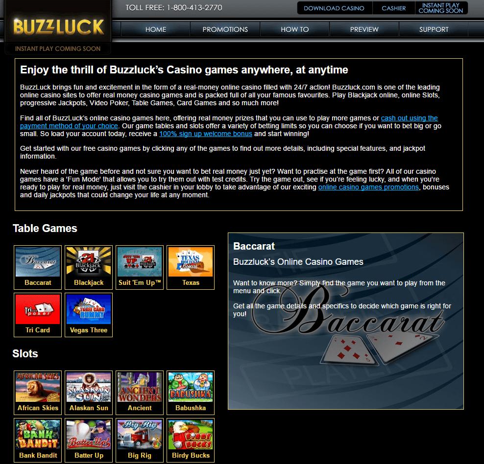 Casino buzzluck casino zeon net