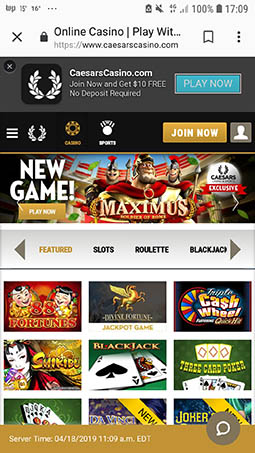 caesar-casino-mobile-smart-phone-games