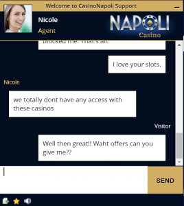 Napoli chat Support