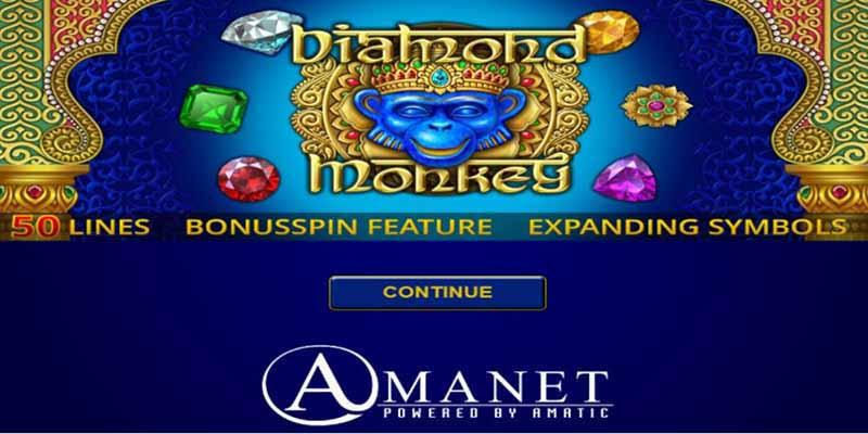 Amanet Slots Diamond Monkey