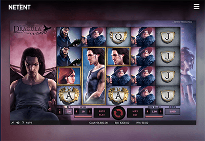 Dracula Slot Screenshot