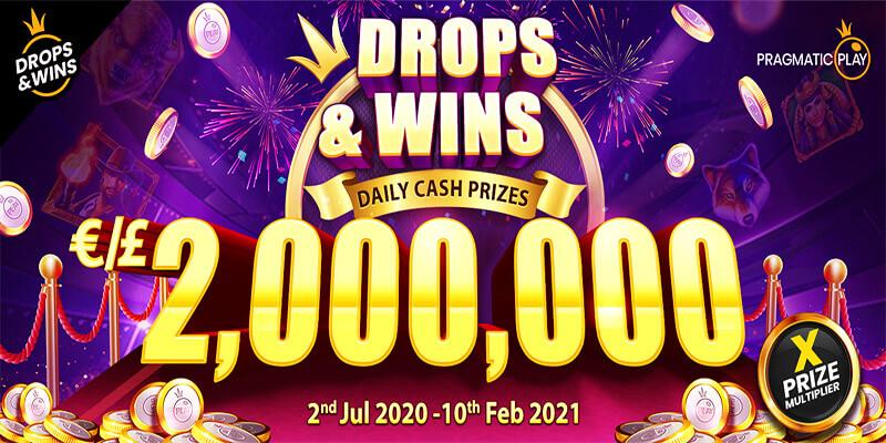 Drops & Wins €2,000,000 Network Promotion July 2020 – Feb 2021