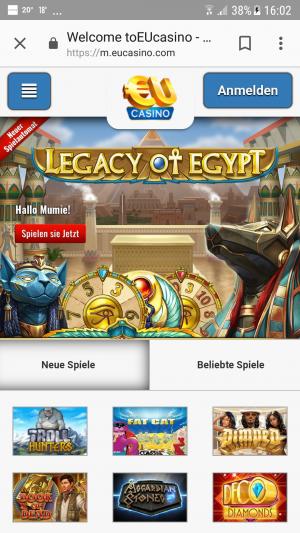 eucasino-mobile-games