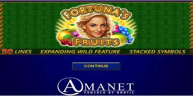 Fortuna's Fruits Amanet Slots