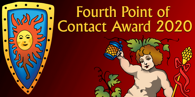 Fourth Point of Contact Award 2020