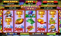Fruit Bowl XXV winning screenshot at CasinoMax - by Heroics