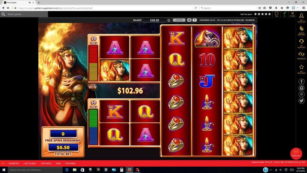 golden nugget online casino review   nj licensed