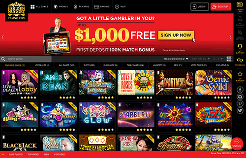 Golden Nugget Online Casino Nj