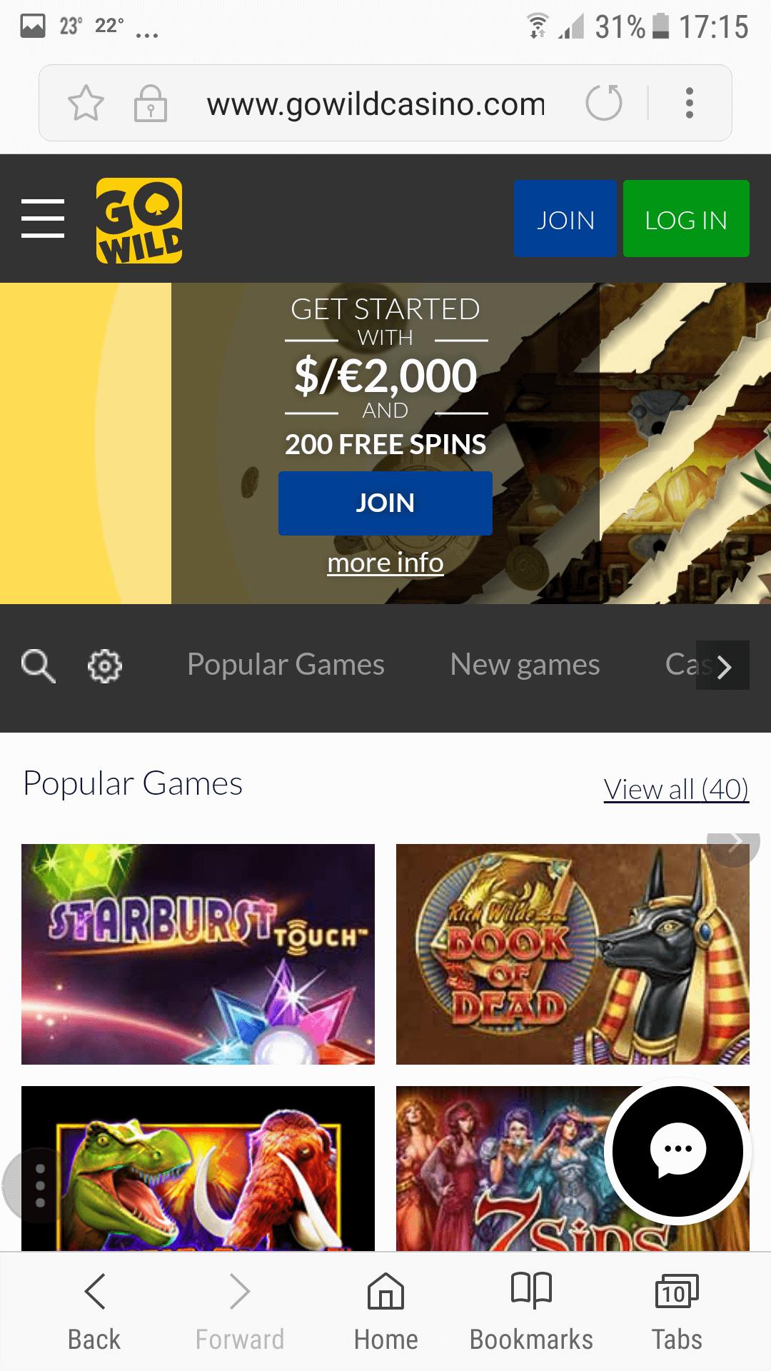mobile casino no deposit australia