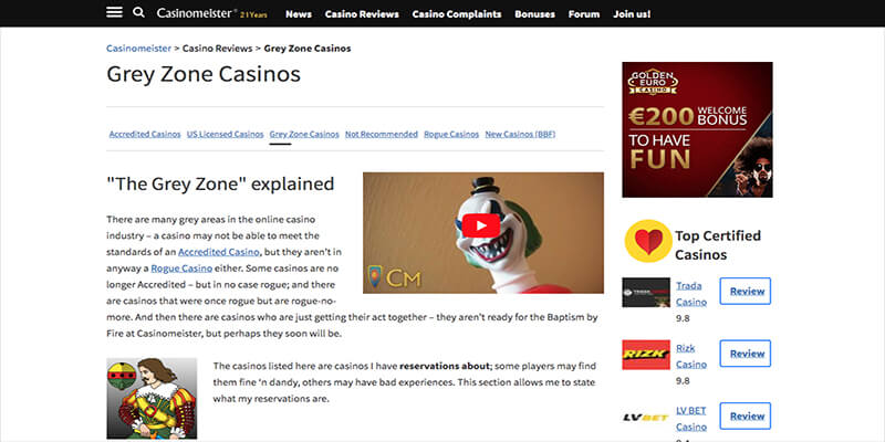 Mr Green and Redbet lose Accredited Status