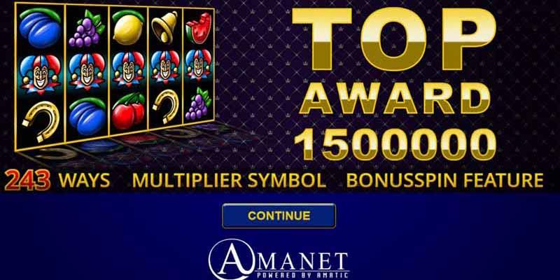 Top Award - Amanet Slots