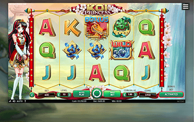 koi princess slot screenshot