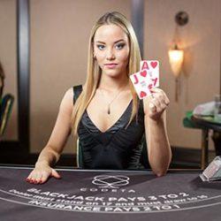 live casino dealer blackjack