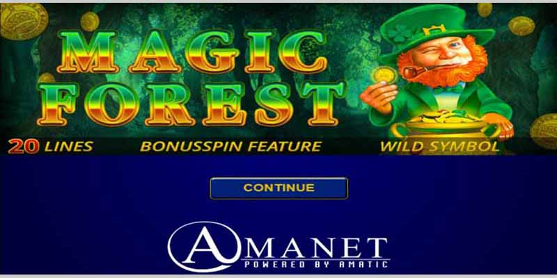 Magic Forrest Amanet Slots
