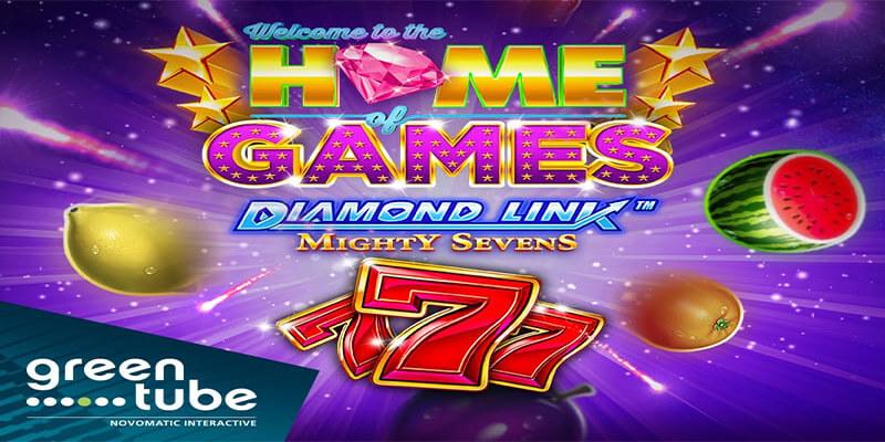 Diamond Link™: Mighty Sevens from Greentube