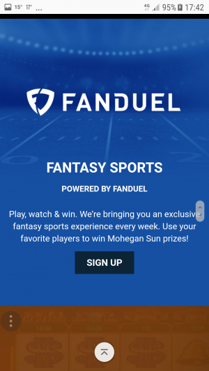 Fandual fantasy sports - Mohegan Sun Casino