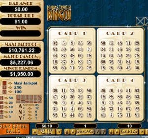 Online Bingo Screenshot