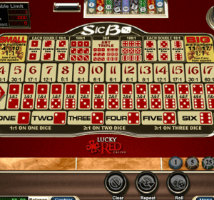 online sic bo casino game